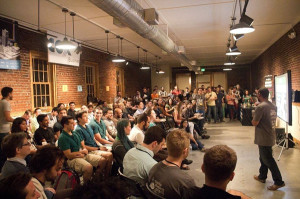 The hybrid co-work/incubator Starter Space is geared toward young entrepreneurs.