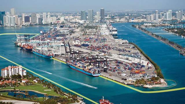 PortMiami will be the first Florida port to reach a depth of 50 feet.