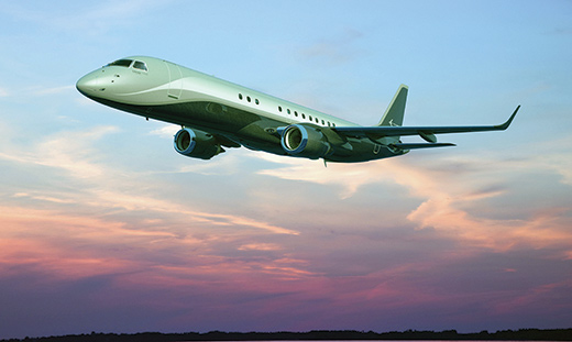 Embraer, a multinational corporation headquartered in Brazil, has its Executive Jets operation based on Florida's Space Coast in Melbourne.