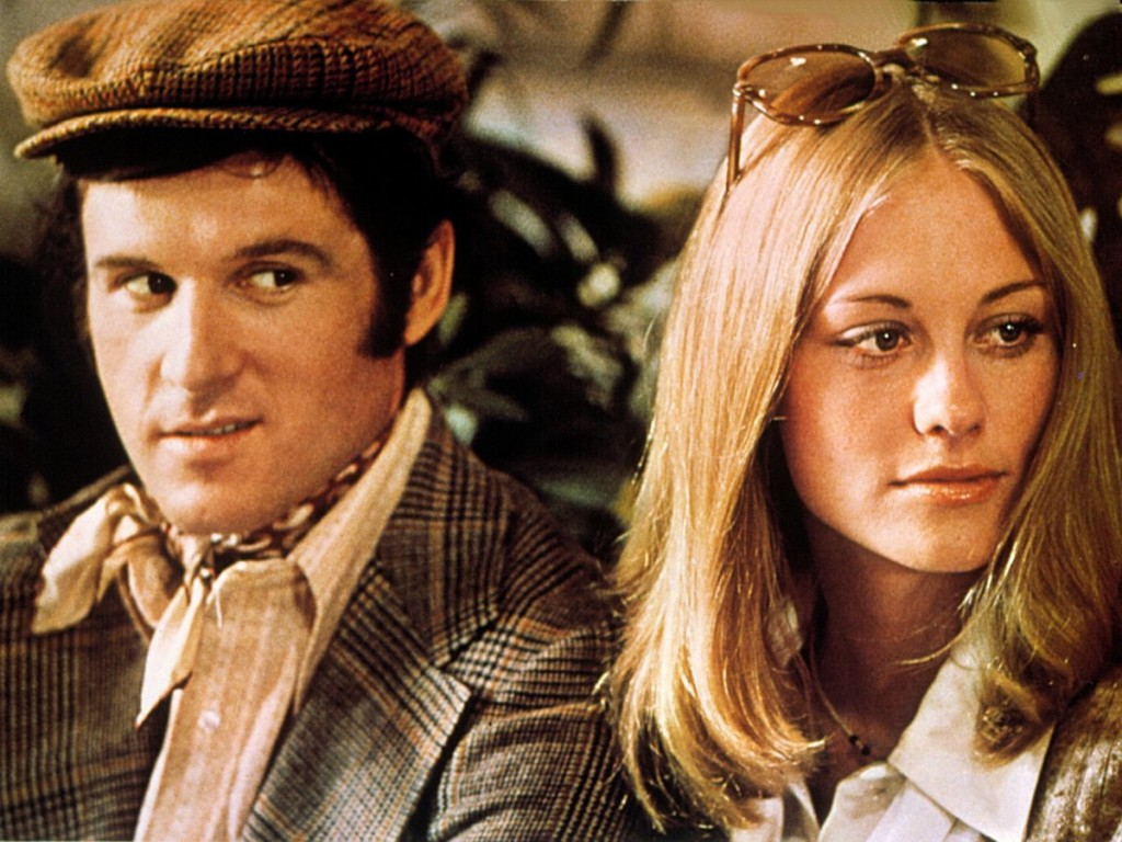 Charles Grodin and Cybill Shepherd in The Heartbreak Kid