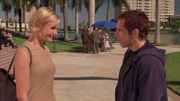 Something About Mary co-stars Cameron Diaz and Ben Stiller