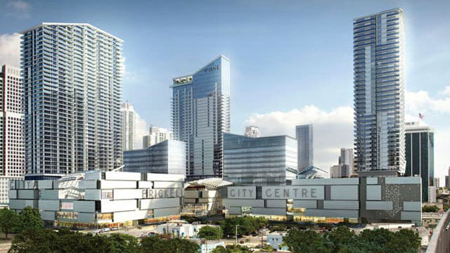 Artist rendering of Brickell City Centre in Miami.