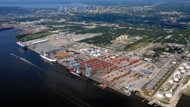 JAXPORT recently received new business from Nestlé USA with help from the governor.