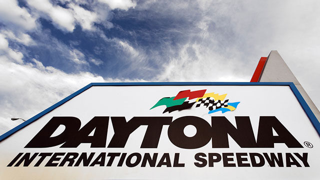 Daytona International Speedway sign
