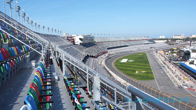 Daytona Rising grandstands