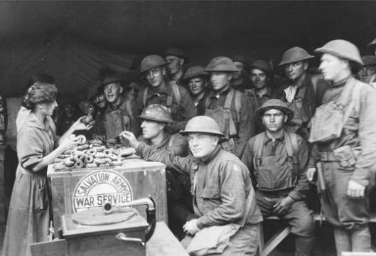 National Doughnut Day WWI