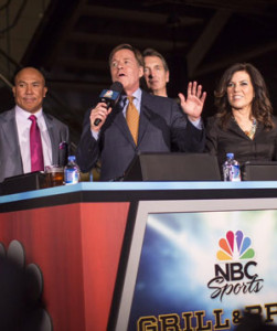 Bob Costas and team of top NBC Sports commentators