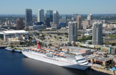 Carnival Cruise Channelside. Photo Credit: Visit Tampa Bay.