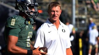 Frost at Oregon, coaching Heisman winner Marcus Mariota