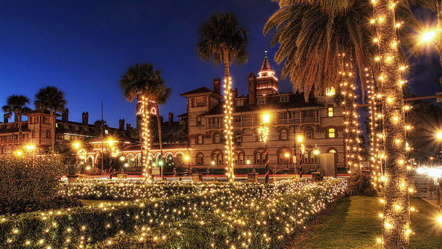 Nights of Lights in St. Augustine