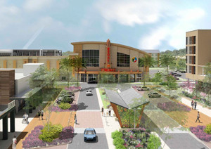 Artist rendering of Celebration Pointe movie theater