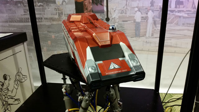 Star Tours vehicle prototype