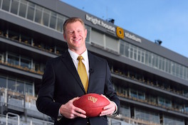 UCF Scott Frost at Brighthouse Stadium