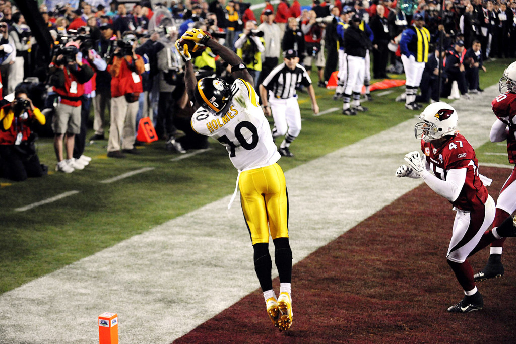 Santonio Holmes' 2009 grab in Tampa capped one of the best Super Bowls ever.