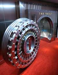 the vault containing the secret formula for Coca-Cola