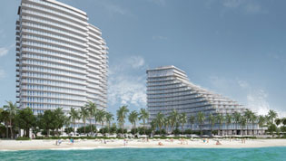 Rendering of Auberge Beach Residences & Spa