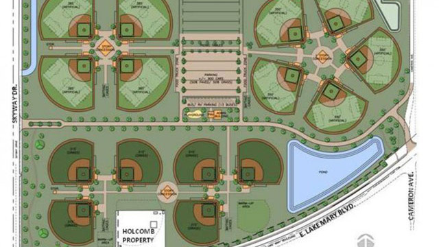 Seminole County Sports Complex rendering
