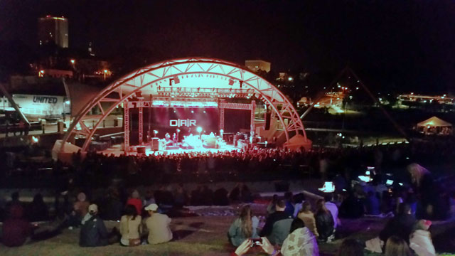 OAR performs at Capital City Amphitheater
