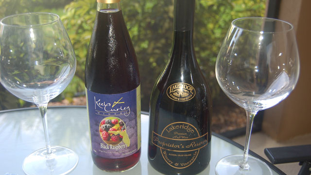 Florida wine bottles
