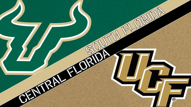 USF and UCF logos