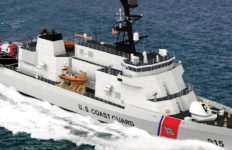 U.S. Coast Guard ship vessel