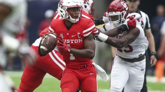 Houston's big upset of Oklahoma on Sept. 3 made the Cougars a favorite in the Big 12 sweepstakes . . .