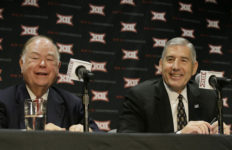 OU President David Boren and Big 12 Commissioner Bob Bowlsby explain the decision not to expand.
