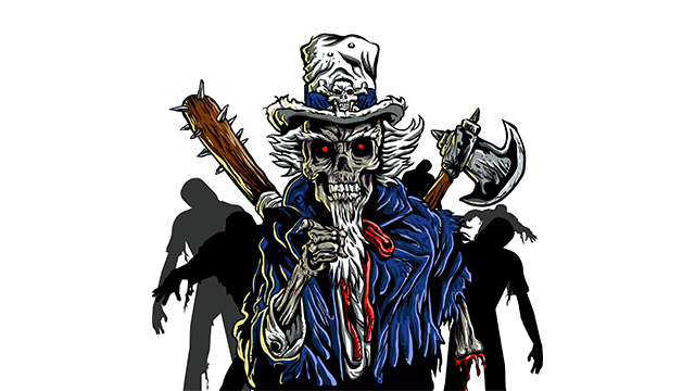 zombie Uncle Sam